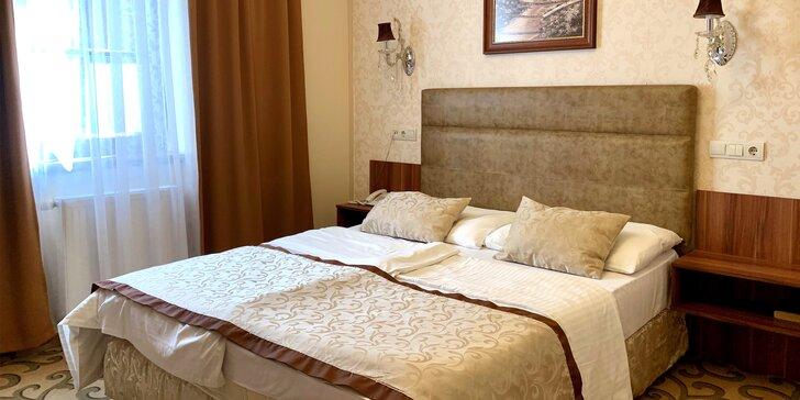 Pobyt v historickém centru Győru: 4* hotel, snídaně či polopenze a neomezený wellness