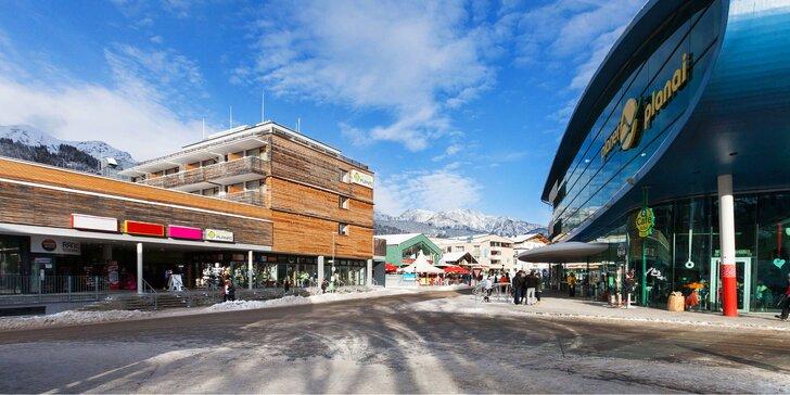 Na lyže do Rakouska: 4* hotel u lanovky Schladming/Dachstein, skipas i wellness