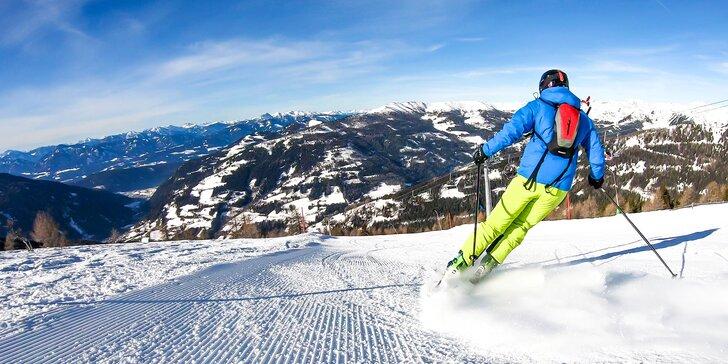 Zimní dovolená v rakouských Korutanech: ubytování se snídaní a skipasem
