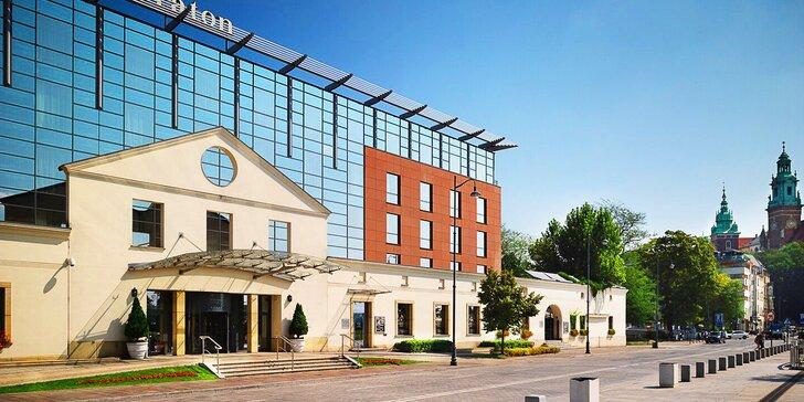 Pobyt v nádherném 5* hotelu Sheraton Grand Krakow: snídaně či polopenze, bazén, fitness i masáž