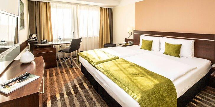 4* pobyt v Praze: hotel 15 min. metrem od Václaváku, možnost snídaní