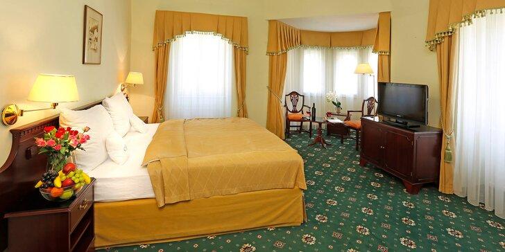 Užijte si Karlovy Vary: 3–7 dní v hotelu Mignon**** s procedurami a polopenzí