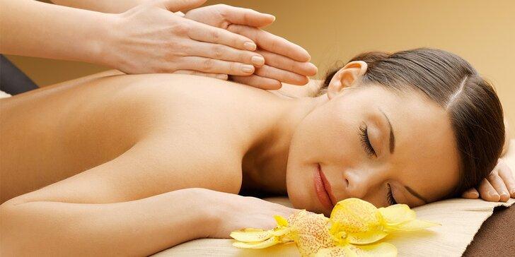 Speciální masáže: lymfatická, aroma nebo měkká technika