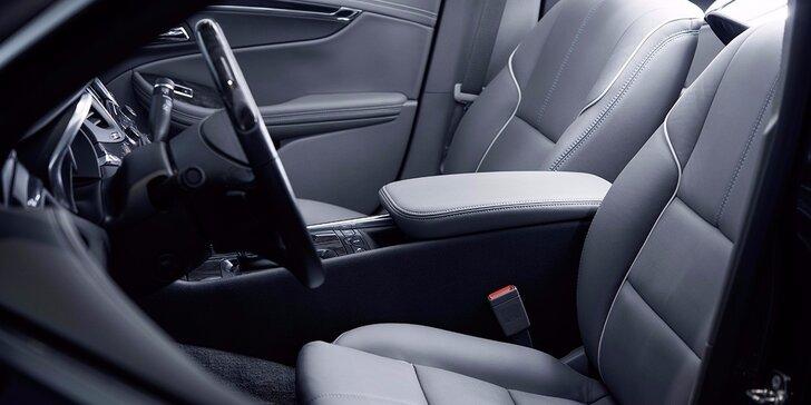 Zimní čištění interiéru auta od Auto-repair: tlakové mytí i vysávání