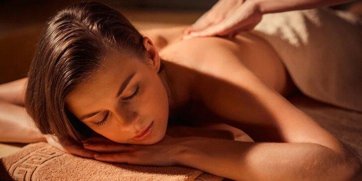 Hluboce uvolňující psychosomatická masáž: 60 nebo 90 minut