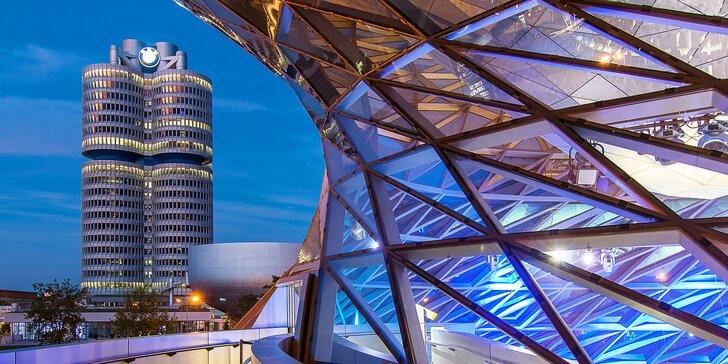 Celodenní výlet do Mnichova: prohlídka města, BMW Museum i Olympijský park