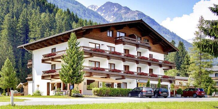 All inclusive dovolená v Rakousku: turistika, Krimmelské vodopády i relaxace v lázních Kristallbad, dítě do 11,9 let zdarma
