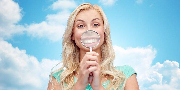 I vy můžete mít zářivý úsměv: ordinační bělení zubů pro 1 osobu