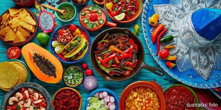 Mexiko v centru Liberce: otevřený voucher na 500 či 1000 Kč do restaurace s mexickým šéfkuchařem