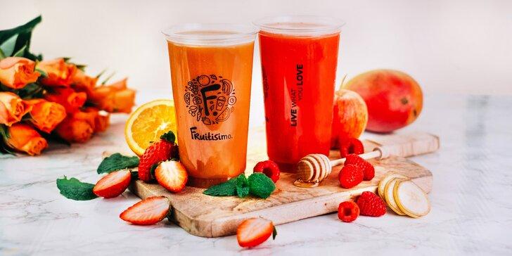 2× 0,5litrový drink Fruitisimo plný lásky a vitamínů: SRDCOVKA & AMOREK
