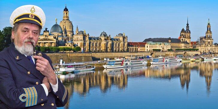 Romantická plavba do Drážďan: jídlo, víno a průvodce po celý den