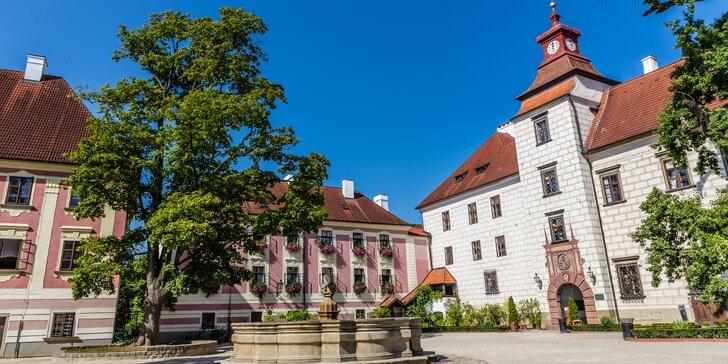 Za krásou jižních Čech: pobyt v Třeboni s polopenzí