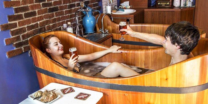 Wellness pobyt v Poděbradech: 1–10 nocí, snídaně, pivní koupel, relaxační procedury i dárek