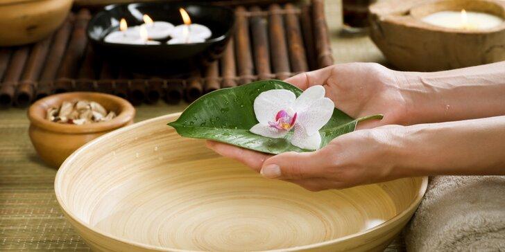 Pečující rituály o ruce s možností lakování či masáže šíje
