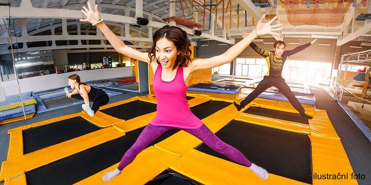 Pojďte si zaskákat: hodinový vstup do liberecké Urban Jump Arény pro jednoho