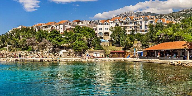 Chorvatsko all inclusive: jídlo i pití a spousta vyžití po celý den, hotel 100 metrů od pláže