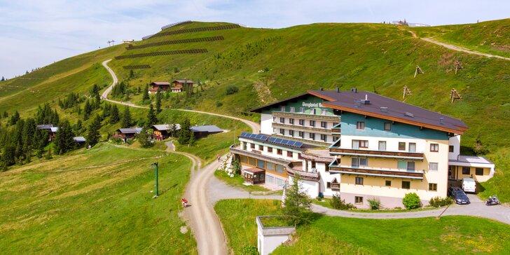 Za pěšími i cyklovýlety do rakouských Alp: hotel s all inclusive a saunou