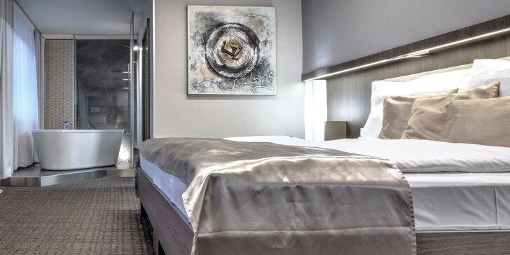 Luxus v Prokopském údolí: pobyt v moderním hotelu s jídlem i wellness