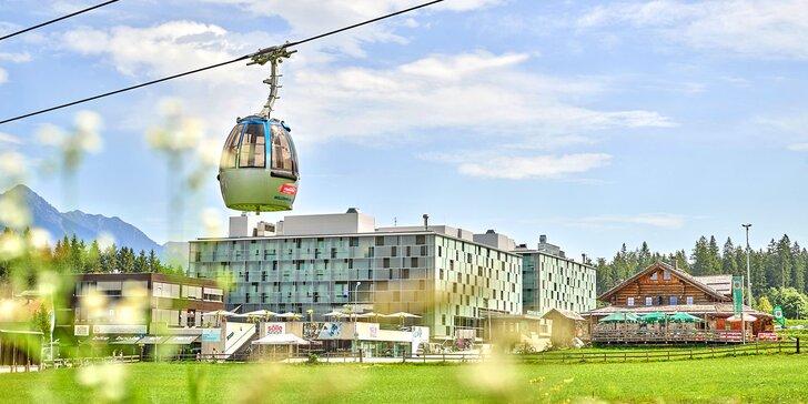 Aktivní letní dovolená v rakouských Korutanech: 3* horský resort s polopenzí