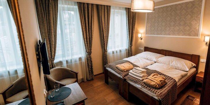 Relax v centru Karlových Varů: snídaně a wellness procedury