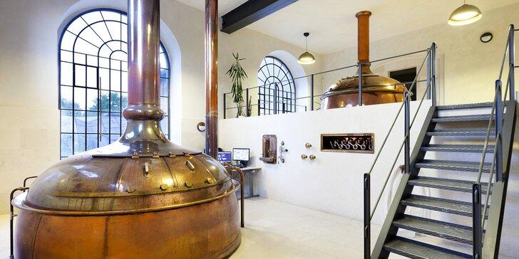 Pobyt pro milovníky piva: 3 dny v pivovaru Cvikov se snídaní, neomezeným popíjením a prohlídkou