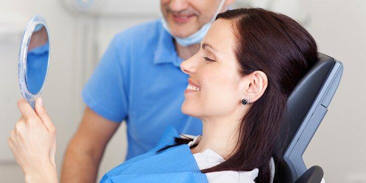 Dentální hygiena, airflow i bělení zubů patentovanou LED technologií