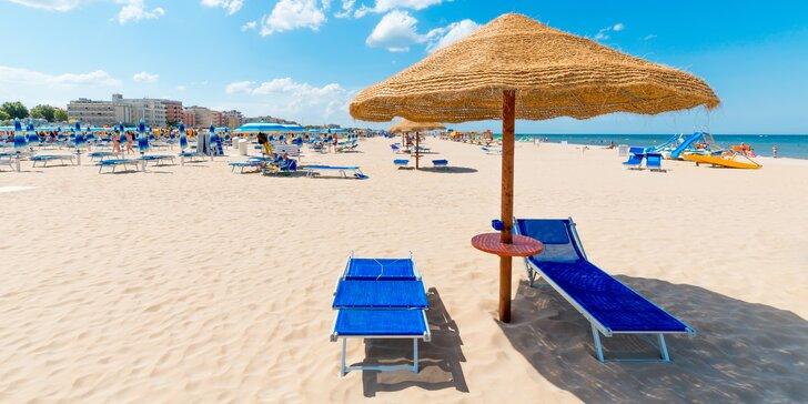 Italské Rimini: pohodová dovolená ve 3* hotelu se snídaní, 300 m od pláže
