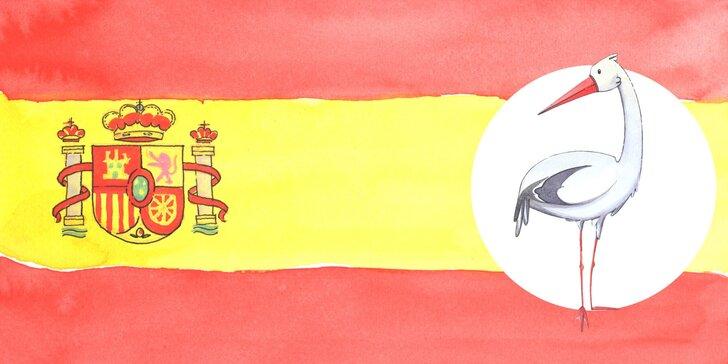 Roční online kurz španělštiny nebo balíček 4 jazyků v jednom