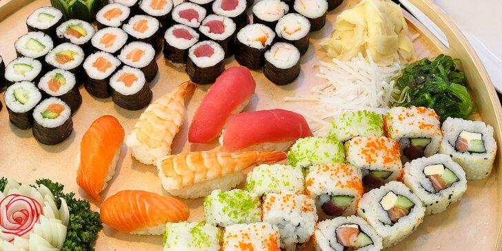 Složte si sushi set podle chuti: otevřený voucher v hodnotě 300 a 500 Kč na dobroty i nápoje