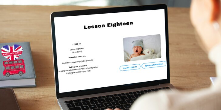 Online kurzy AJ pro začátečníky: 24 lekcí zaměřených na praktická témata