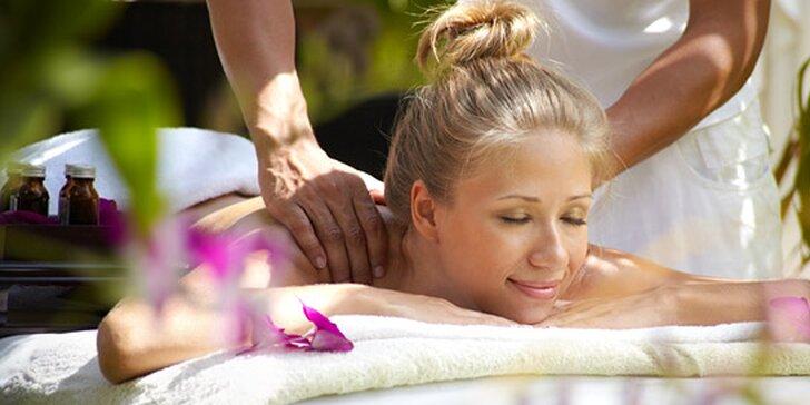 299 Kč za masáž pro pohodu vašich svalů. Havajská masáž NEBO klasická masáž těla, 60 nebo 120 minut příjemné relaxace