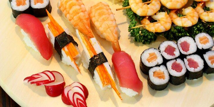 Japonské dobroty podle chuti: otevřené vouchery na 300 i 500 Kč do Sushi Miomi