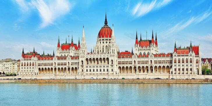 Srpnový poznávací autobusový výlet do Budapešti s relaxací v termálech