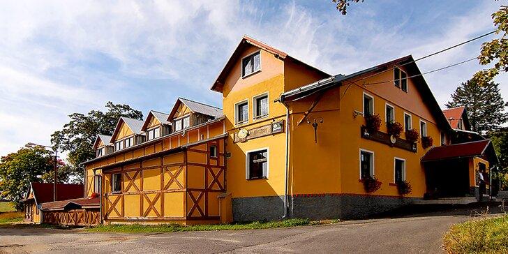 Rodinný pobyt v Krušných horách: pohodový baby friendly hotel se snídaní