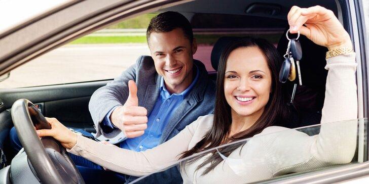 Zdokonalte své řidičské schopnosti: 1 až 5 kondičních jízd v Příbrami
