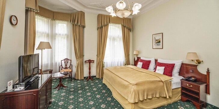 Karlovy Vary i s lázeňskými procedurami: 7 dní v Hotelu Mignon, polopenze