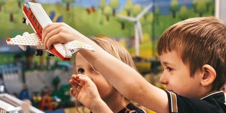 Vstup do Muzea LEGO® pro děti i dospělé: modely i prostor na hraní