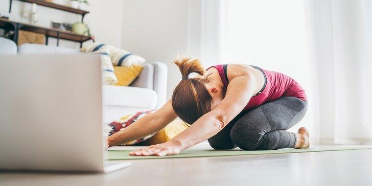 Minikurz jógy pro začátečníky nebo jóga pro zdravá záda: online lekce