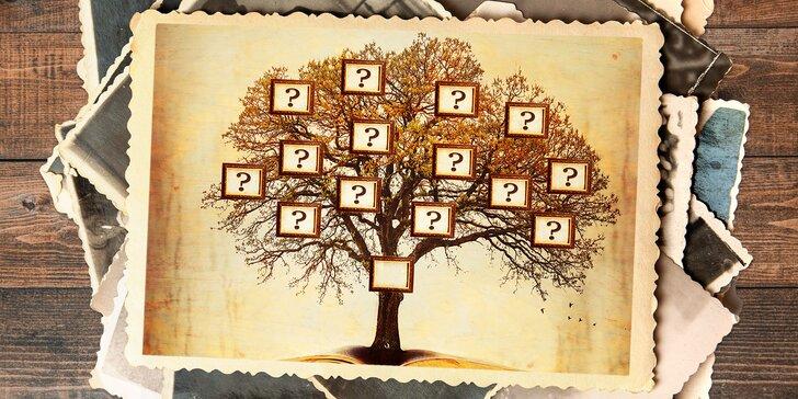 Poznejte své předky: rodokmen 4 nebo 5 generací po linii otce či matky