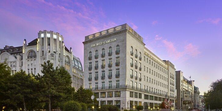 Luxusní pobyt v Budapešti: 5* hotel The Ritz-Carlton v centru města se snídaní nebo polopenzí