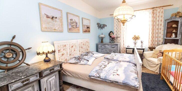 Stylové ubytování v romantických venkovských apartmánech pro 2 až 10 osob