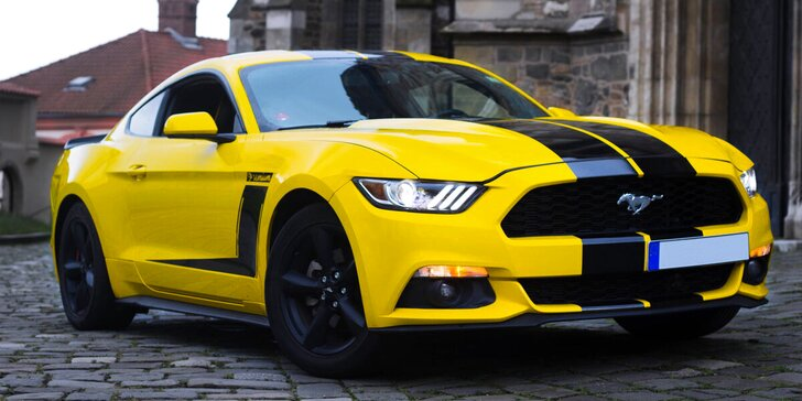Nespoutaná jízda: 30–180 min. jízdy ve Fordu Mustang bez limitu najetých kilometrů
