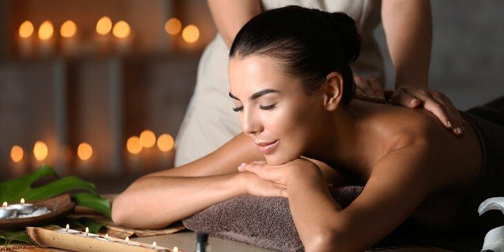 Zasloužený odpočinek: 60 nebo 90 min. relaxační masáže aroma olejem