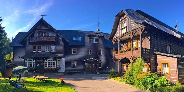 Pobyt ve Špindlerově Mlýně: polopenze, sauna, vodní ráj i sleva na masáže