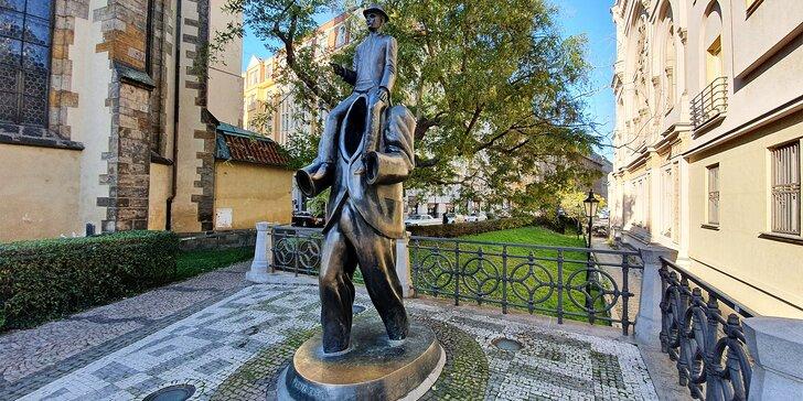 3hod. komentovaná procházka Po stopách Franze Kafky pro 1 i 2 osoby