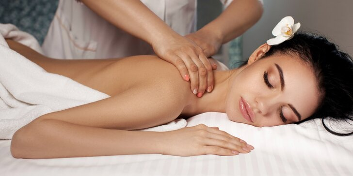 Kombinovaná masáž vč. reflexní masáže na 50 či 80 minut
