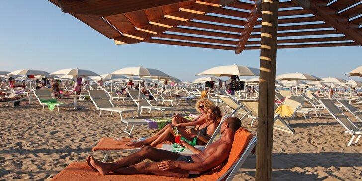 Dominanty San Marina s pobytem na pláži v Rimini: koupání a slunění