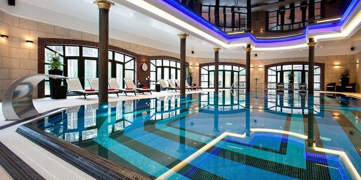 Dovolená na Baltu: elegantní hotel uprostřed lesů, polopenze a neomezený vstup do wellness