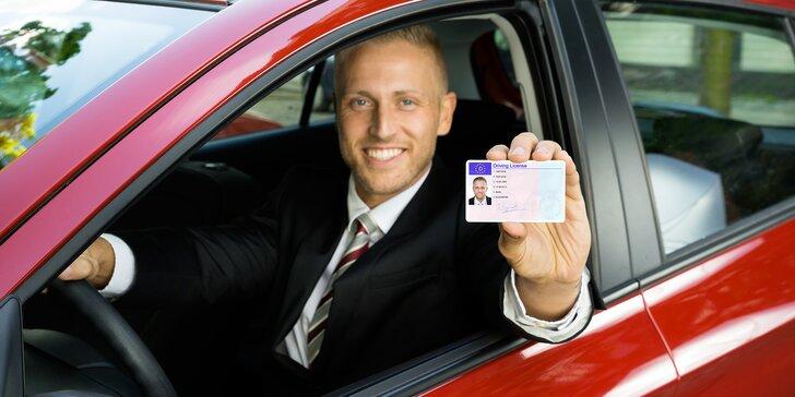 Rezervace autoškoly: získejte řidičský průkaz skupiny B