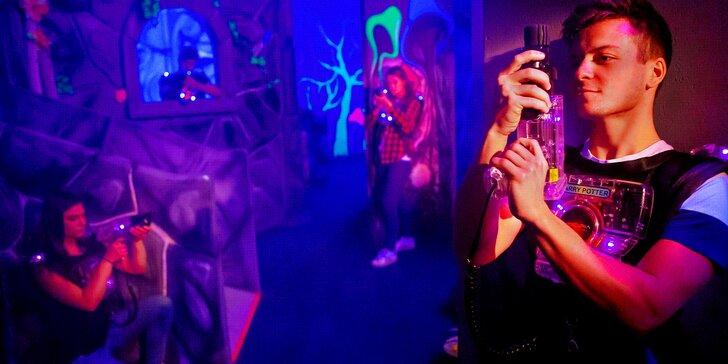 Laser game v plné parádě: největší komplex v ČR a vouchery až pro 10 hráčů